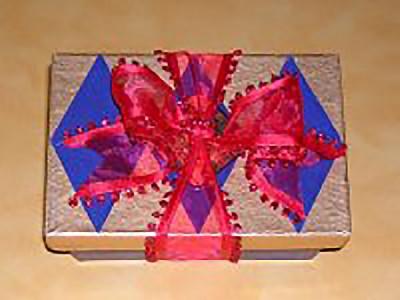 XOX Truffles Ribbon Bow Ballotin